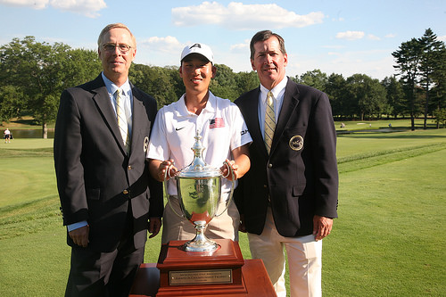 CastnerGolf alumnus, Peter Kim, wins 113th Met Amateur Championship at Baltusrol