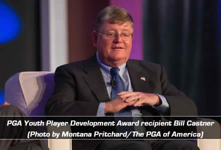 PGA Youth Player Development Award recipient Bill Castner