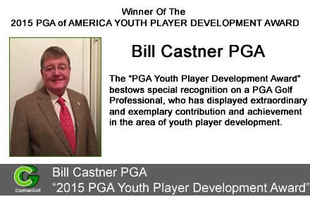 Billy Castner The PGA Youth Player Development Award 2015