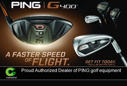 Proud Authorized Dealer of PING golf equipment
